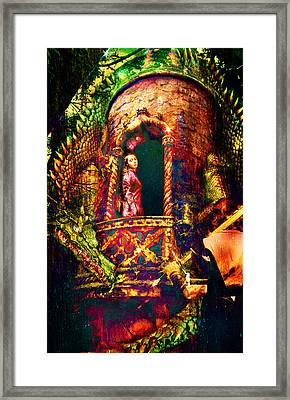 Framed Print featuring the digital art The Tower by Nada Meeks