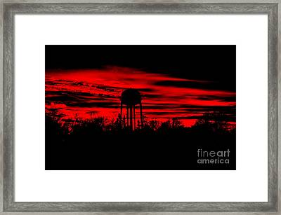 Framed Print featuring the photograph The Tower by Tamera James