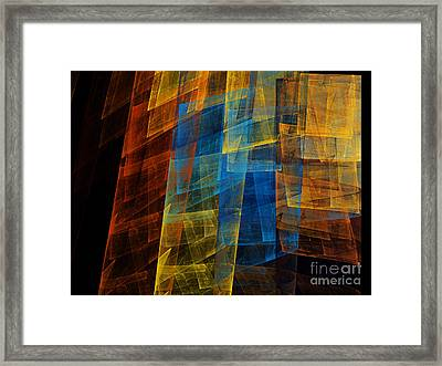 The Towers 1 Framed Print by Andee Design