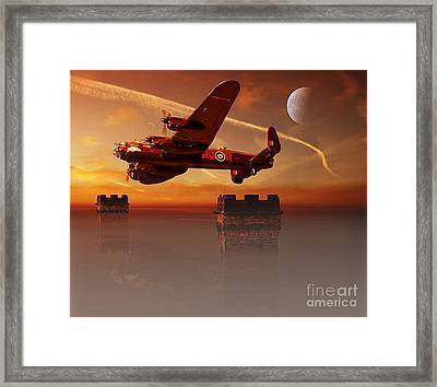The Towers Framed Print