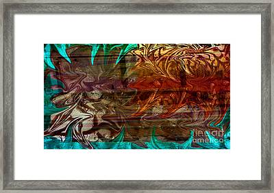 The Train Wreck Framed Print by Robert Meanor