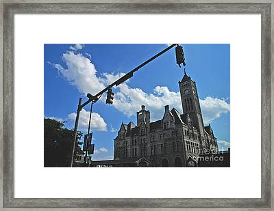 The Trainstation Nashville Framed Print by Susanne Van Hulst