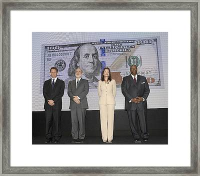 The Treasury Department Unveils The New Framed Print