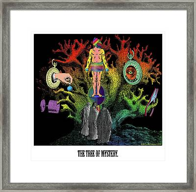 The Tree Of Mystery Framed Print
