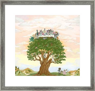 The Tree Party Framed Print