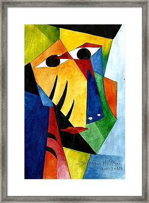 The Tribal 2 Framed Print by Jakeer Hussain