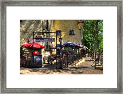 The Troll Tavern Framed Print