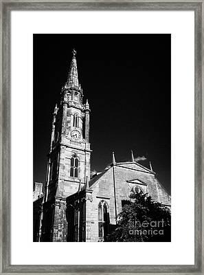The Tron Church Edinburgh Scotland Uk United Kingdom Framed Print by Joe Fox