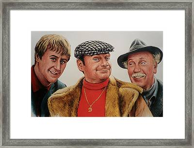 The Trotters Framed Print by Andrew Read