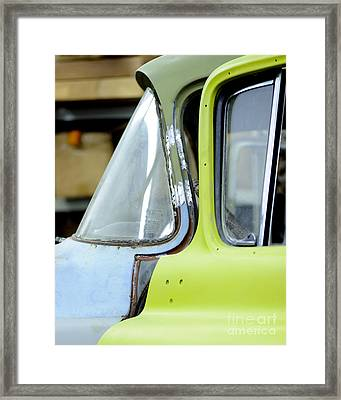 The Truck Project Framed Print by Nancy Greenland