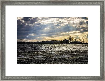 The Turbo Melter Framed Print by Matti Ollikainen