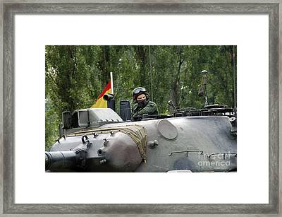 The Turret Of The Leopard 1a5 Mbt Framed Print