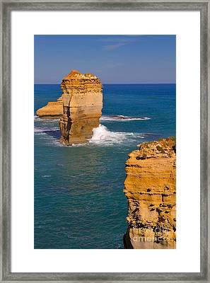 The Twelve Apostles In Port Campbell National Park Australia Framed Print by Louise Heusinkveld