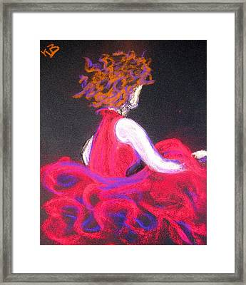 The Twirl Framed Print