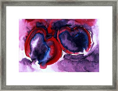 The Two Of Us Framed Print by Eunice Olson