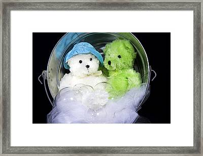 The Two Of Us Framed Print by Trudy Wilkerson