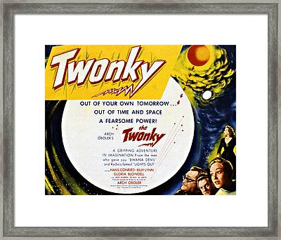 The Twonky, From Left Norman Field Framed Print
