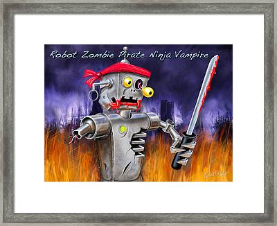 The Ultimate Nightmare  Framed Print by David Kyte