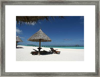 The Ultimate Relaxation Framed Print by Andrei Fried