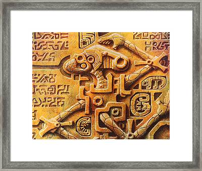 The Unanswered Enigma Framed Print by Baron Dixon