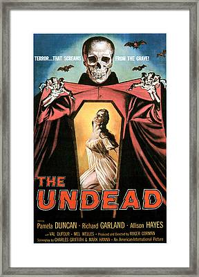 The Undead, Pamela Duncan, 1957 Framed Print