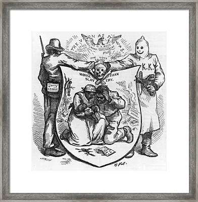 The Union As It Was. The Lost Cause Framed Print by Everett