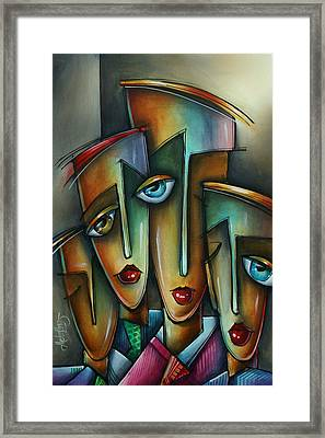 The Union Framed Print by Michael Lang