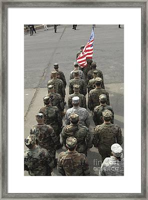 The United States Delegation Framed Print
