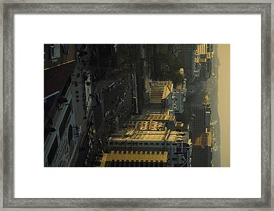 The United States Treasury Obstructs Framed Print by Sisse Brimberg