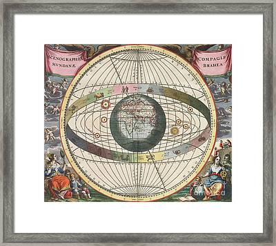 The Universe Of Brahe Harmonia Framed Print by Science Source
