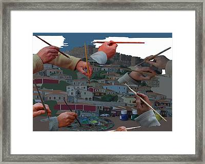 The Unknown Artists Framed Print by Eric Kempson
