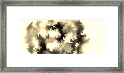 Framed Print featuring the drawing The Unknown by Lori  Lovetere