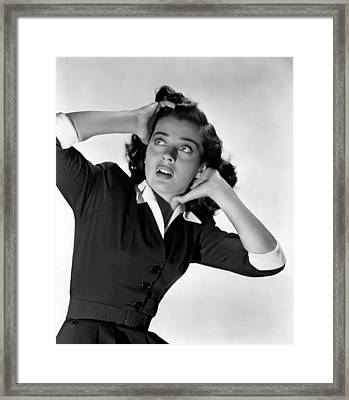 The Unseen, Gail Russell, 1945 Framed Print