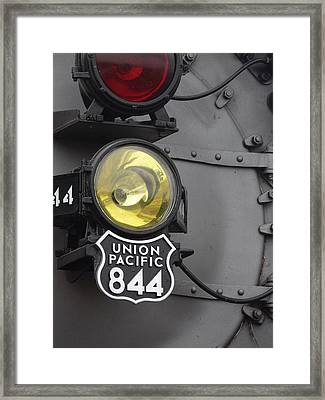 The Up 844 Framed Print