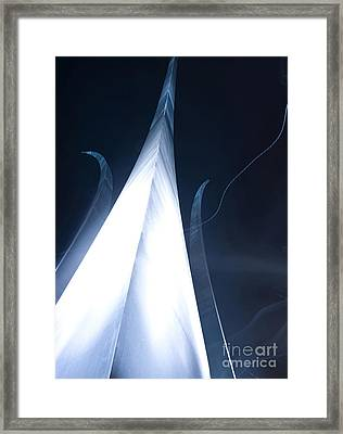 The U.s. Air Force Memorial Stands Framed Print by Stocktrek Images
