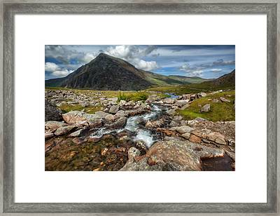 The Valley Framed Print by Adrian Evans