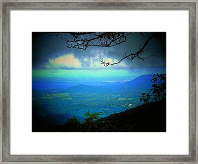 The Valley Framed Print by Michael L Kimble