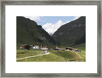 Framed Print featuring the photograph The Valley Of Valles In Italy by Raffaella Lunelli