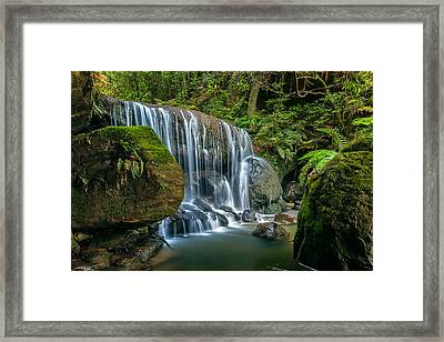 The Valley's Floor Framed Print