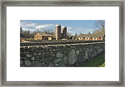 The Van Hoosen Farm 3526 Framed Print by Michael Peychich
