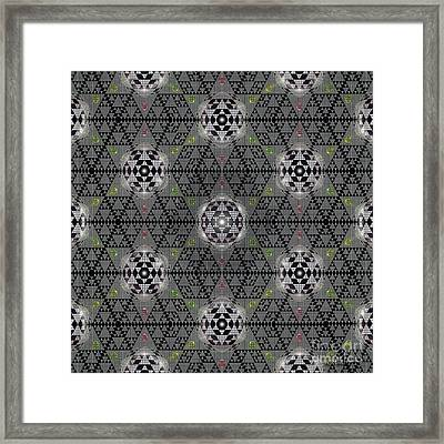 The Vault Of Heaven Framed Print by Walter Oliver Neal