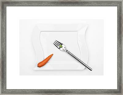 The Vegetables Framed Print by Joana Kruse