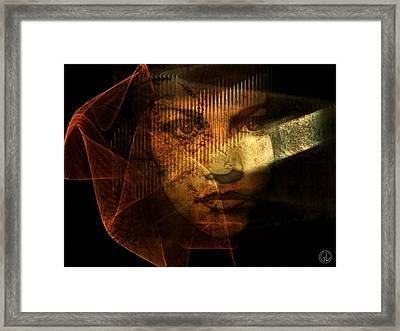 The Veil Framed Print