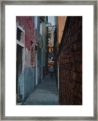 The Venetian Framed Print by Joanna Franke