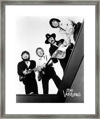 The Ventures, Ca. 1980 Framed Print
