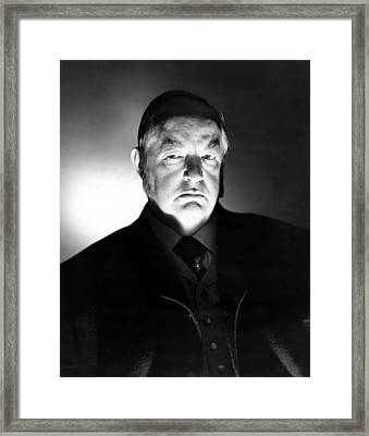 The Verdict, Sydney Greenstreet, 1946 Framed Print