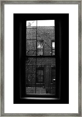 The View At 155th Street Framed Print