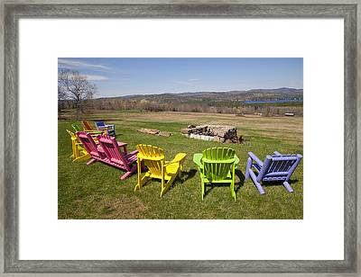 The View From Here Framed Print
