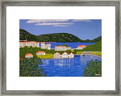 The View From My Bedroom Framed Print