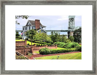 The View Framed Print